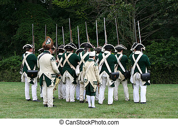Revolutionary War Re - Reenactment of the Siege of 1777 ~...