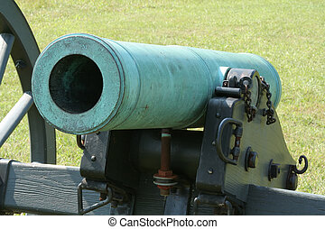 Line of Fire - Cannon at the Manassas Battlefield, Virginia