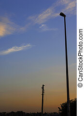 A street light - Low angle view of a street light