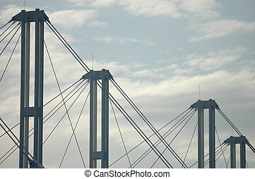 support structure - steel support structure