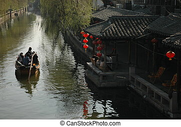 ZhouZhuang canal - canal in ZhouZhuang