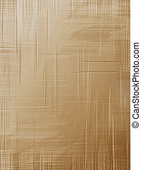 Creased brown paper - Background design of brown paper
