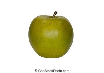 Green Apple - Photo of a Green Apple - Isolated