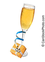 香檳酒, 禮物