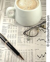 Financial Section - A newspapers financial section