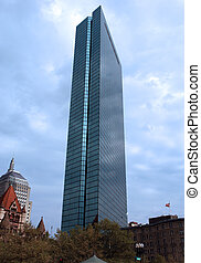 Boston Sky Scraper Rises Above the City - Looking like it is...