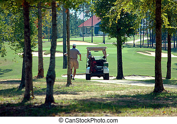 Golf Course - Photographed golf course at state park in...