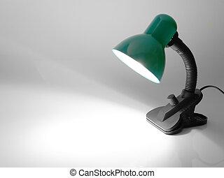 Desk lamp\\\'s spot