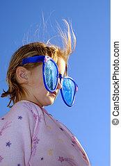 Glasses Little Girl