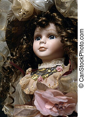 the doll - the beautiful porcelain girl