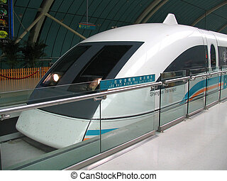 MAGLEV - Magnetic Levitation Train, Shangahi, China