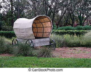 Covered Wagon - American western-styled covered wagon