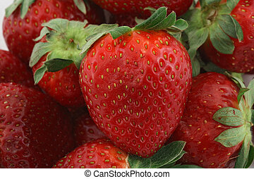 fruits 010 strawberry many close - fruits strawberry many...