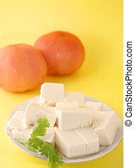 素食主義者, 豆腐