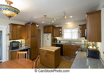 Remodeled Kitchen - Shot of a recently remodeled kitchen