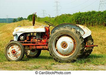 Farm Tractor - Vintage Farm Tractor