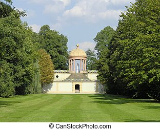 Apollo Temple - This building in an electoral park in...