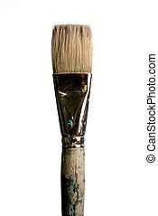 The Brush - single brush on white background