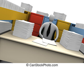 Endless Paperwork #2 - Office Moments - Endless Paperwork...