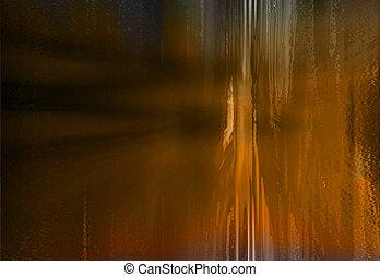 Brown grunge - Background abstract of orangey-brown grunge