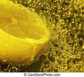 はね返し, レモン