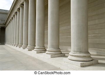 roman columns - building detail show many greek style...