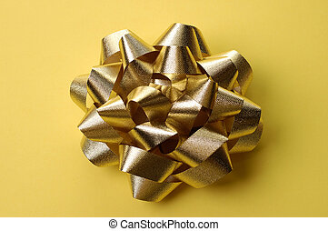 Golden Bow Wrapping