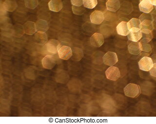 Night Life - sparkling gold lights and texture background