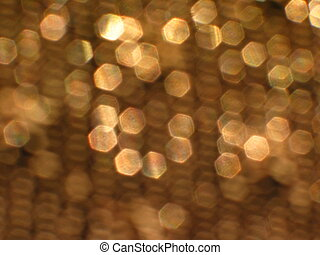 Party Lights - glinting gold highlights and texture...