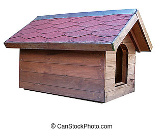 dog house - doghouse out wood