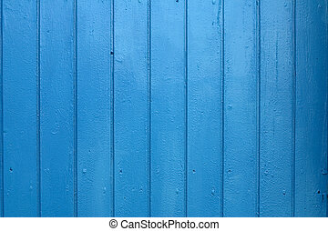 Painted wood - Blue painted wood, Mediterranean colors