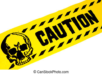 Caution Tape - Photo of Yellow and Black Caution Tape