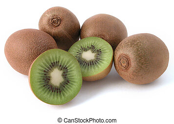 Kiwi fruit - kiwi fruit study - fresh and ready to eat!