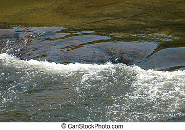 River Eddy - River current causing eddy