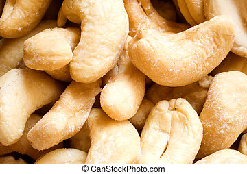 Photo of a Bowl of Cashews - Bowl of tasty looking cashews.