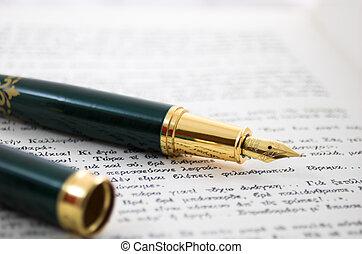 antique pen 4 - old fashion vintage pen