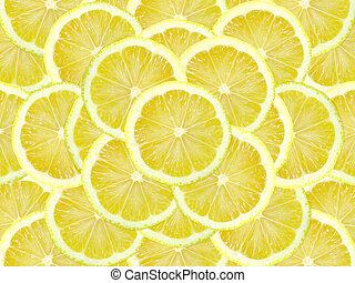 lemon slice - fresh lemon slice