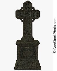 Celtic Cross - 3D Render