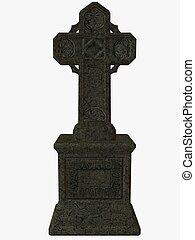 Celtic Cross - 3D Render