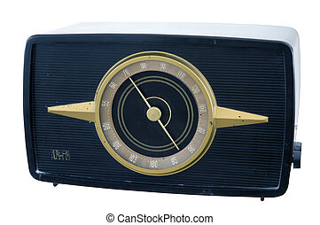 40s radio - large table model radio from the 1940s with...