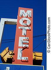motel, segno