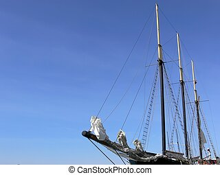 Tall Ship - Old fashioned sailing ship