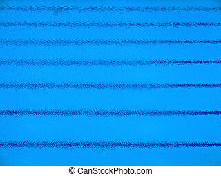 Swimming pool parallel stripes - Trembling surface of an...
