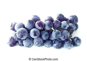 Concord Grapes - bunch of concord grapes