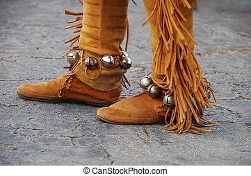 Native American Sued - Native American Footwear