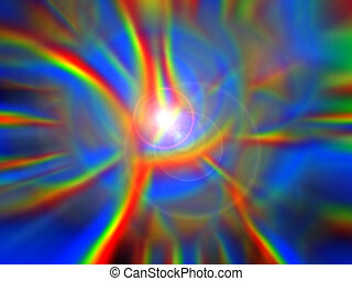 Exotic Divine Light - Patterns of celestial light.