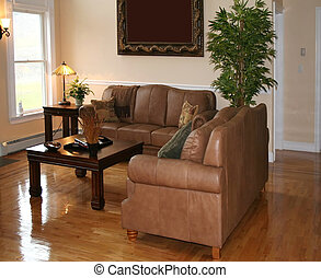 Living Room - Beautiful living room viewed from above