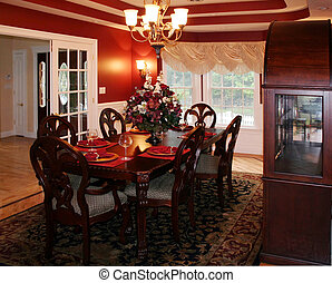 Dining Room - Beautiful upscale formal dining room