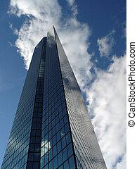 Back Bay Skyscraper - Boston Back Bay skyscraper on a sunny...