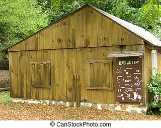 Park Shed in a Nature Center
